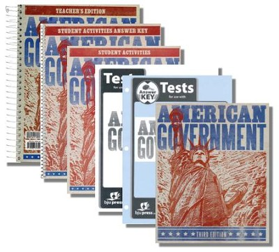 BJU American Government Kit (3rd Edition), Grade 12    -