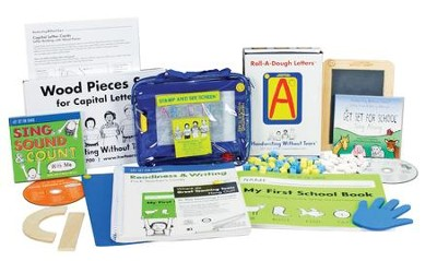 Handwriting Without Tears Pre-Kindergarten Kit (with Standard Letter Cards)  -