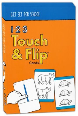 1-2-3 Touch and Flip Cards--Preschool   -