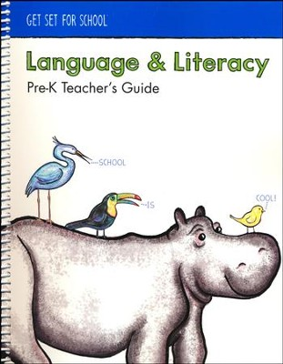 Language and Literacy Teacher's Guide (Grade Pre-K)   -
