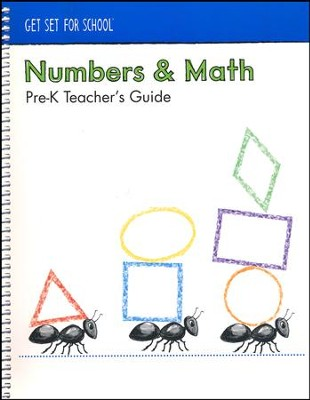 Numbers and Math Teacher's Guide (Grade Pre-K)   -