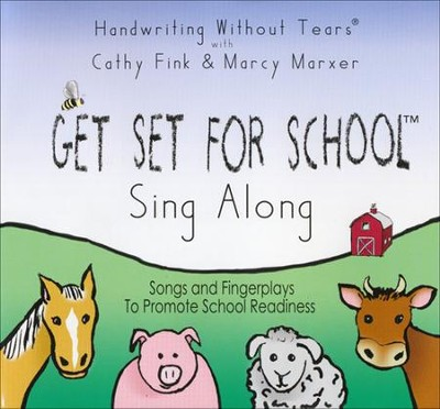 Get Set for School Sing Along Audio CD   -