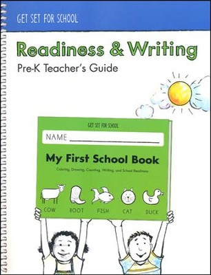 Readiness & Writing Teacher's Guide--Preschool   -