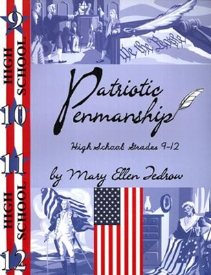 Patriotic Penmanship Grade Sr. High (9-12)  -     By: Mary Ellen Tedrow