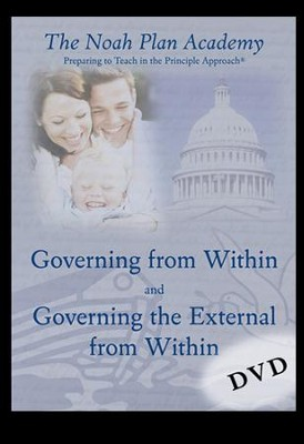 Noah Plan Academy DVD Disk 4: Governing From Within & Governing the External    -