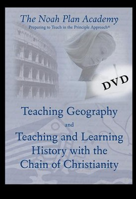 Noah Plan Academy DVD Disk 7: Teaching Geography & Teaching History  -