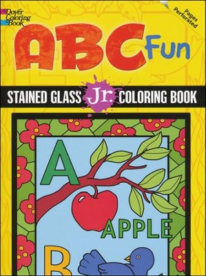 ABC Fun: Stained Glass Jr. Coloring Book  -     By: Freddie Levin