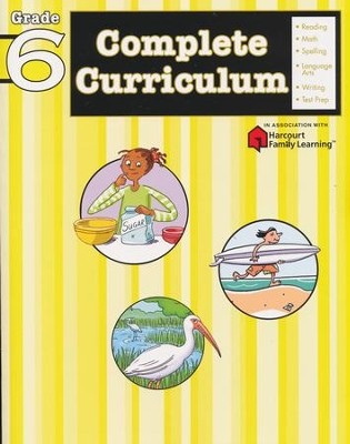 FlashKids Complete Curriculum Workbook: Grade 6   -     By: Flash Kids Ed.s