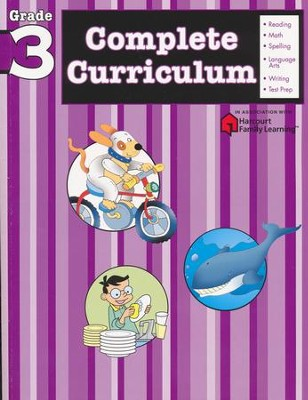 FlashKids Complete Curriculum Workbook: Grade 3   -