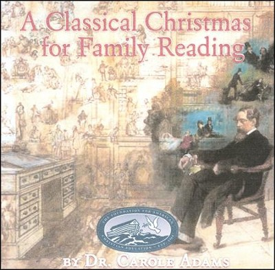 A Classical Christmas for Family Reading (DVD)  -     By: Carole Adams