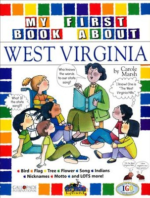 West Virginia My First Book, Grades K-8  -     By: Carole Marsh