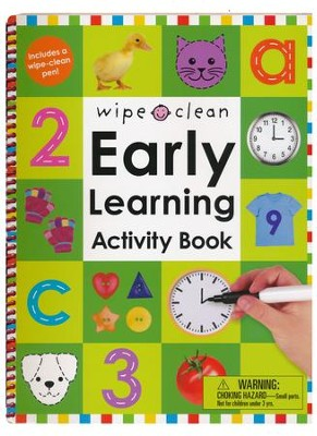 Wipe Clean Early Learning Activity Book  -     By: Roger Priddy
