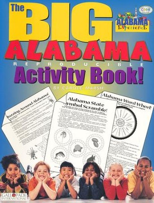 Alabama Big Activity Book, Grades K-5  -     By: Carole Marsh