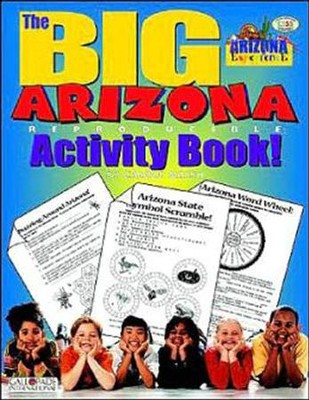 Arizona Big Activity Book, Grades K-5  -     By: Carole Marsh