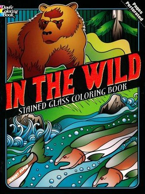 In the Wild Stained Glass Coloring Book  -     By: Jeremy Elder