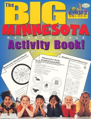 Minnesota Big Activity Book, Grades K-5  -     By: Carole Marsh