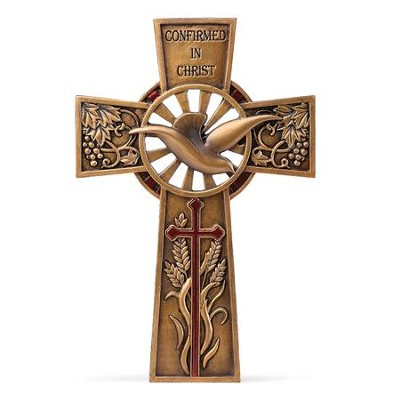 Confirmed In Christ, Dove Wall Cross  -