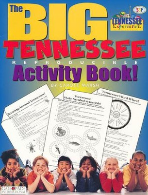 Tennessee Big Activity Book, Grades K-5  -     By: Carole Marsh