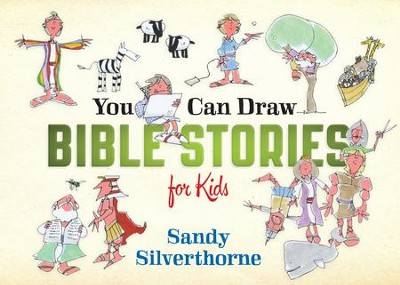 You Can Draw Bible Stories for Kids - eBook  -     By: Sandy Silverthorne
