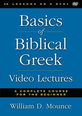 Basics of Biblical Greek Video Lectures, 6 DVDs   -     By: William D. Mounce