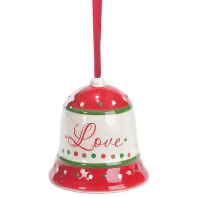Love, Bell Ornament  -
