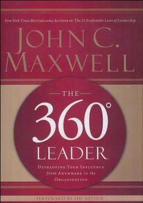 360 Degree Leader abridged MP3-CD   -     By: John C. Maxwell