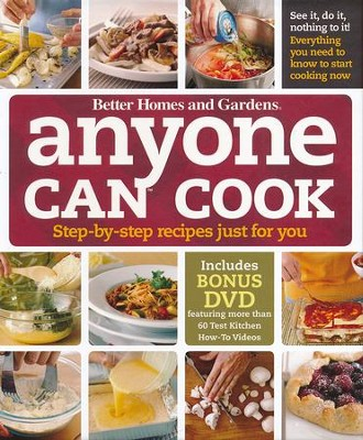 Anyone Can Cook DVD Edition: Step-by-Step Recipes Just for You  -