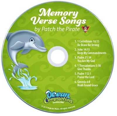 Ocean Commotion VBS Traditional: Memory Verse Student Audio  CDs (Pack of 10)  -