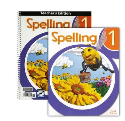 Spelling 1 Homeschool Kit (3rd Edition)   -