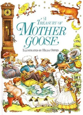 Treasury of Mother Goose Rhymes   -     Illustrated By: Hilda Offen