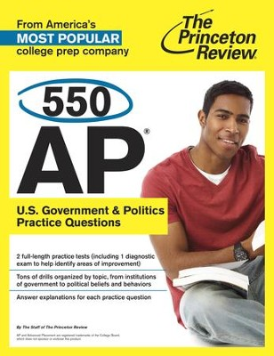 550 AP U.S. Government & Politics Practice Questions - eBook  -     By: Princeton Review