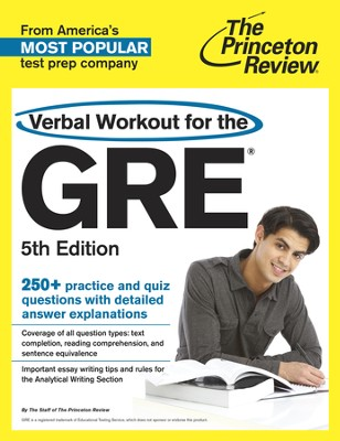 Verbal Workout for the GRE, 5th Edition - eBook  -     By: Princeton Review