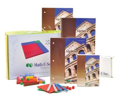 Math U See Algebra 1 Universal Set Christianbook