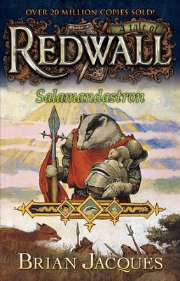 #5: Salamandastron: A Tale of Redwall  -     By: Brian Jacques     Illustrated By: Gary Chalk