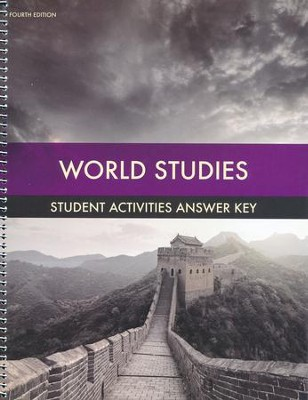 World Studies Grade 7 Student Activities Key (4th  Edition)  -
