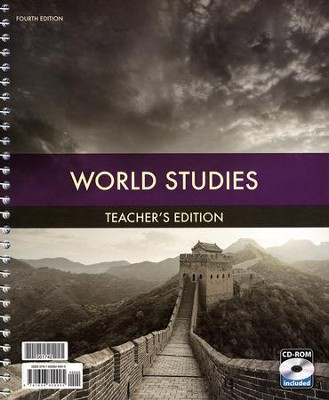 World Studies Grade 7 Teacher's Edition (Book & CD-ROM; 4th Edition)  -