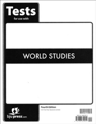 World Studies Grade 7 Tests (4th Edition)   -