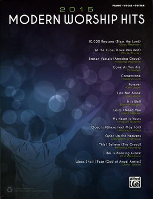 2015 Modern Worship Hits, Piano/Vocal/Guitar Book   -