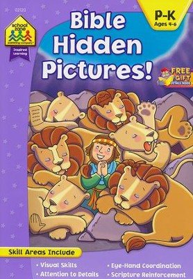 Bible Hidden Pictures! Ages 4-6   -