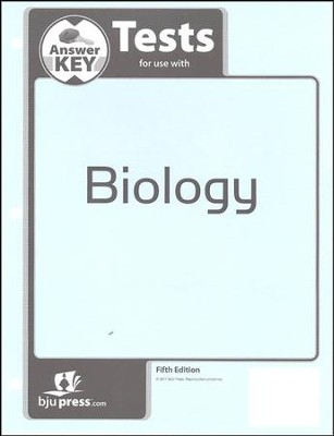 Biology Grade 10 Tests Key (5th Edition)   -