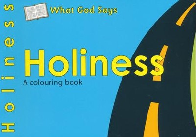 What God Says: Holiness, A Coloring Book   -     By: Catherine Mackenzie