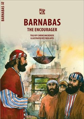 Barnabas the Encourager  -     By: Carine Mackenzie