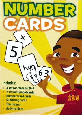 Number Cards (Revised)   -