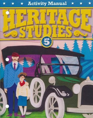 BJU Heritage Studies Grade 5 Student Activity Manual (Fourth  Edition)  -