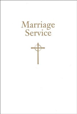 Marriage Service: From Book of Common Worship  -     By: Presbyterian Publishing