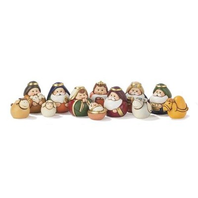 Nativity Set, 12 Pieces  -