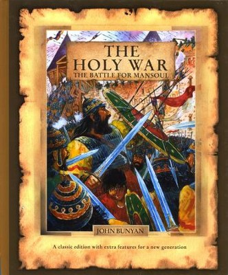 The Holy War: The Battle for Mansoul  -     By: John Bunyan