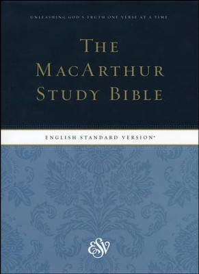 ESV MacArthur Study Bible, Hardcover - Slightly Imperfect  -