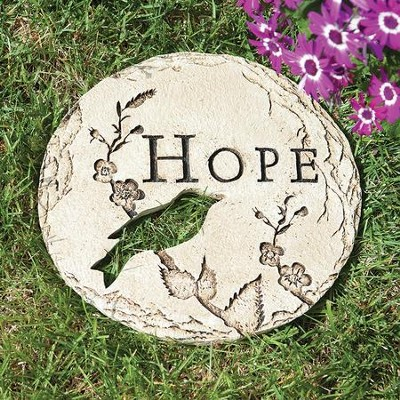 Hope Stepping Stone with Bird  -