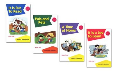 Phonics Readers, 4 Volumes, Grade K   -     By: Florence M. Lindstrom